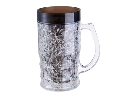 Difference between traditional beer mug and the modern ones